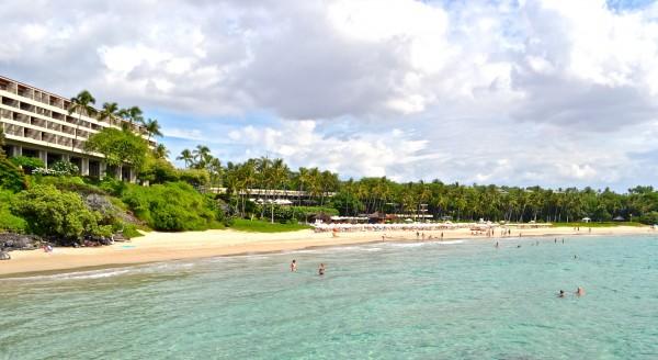 Kauna'oa Bay - Mauna Kea Beach Hotel