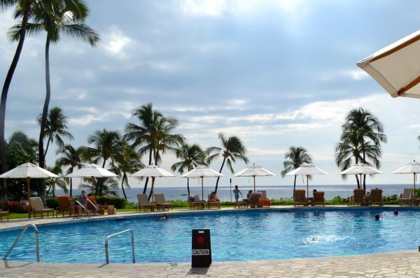 Pool at Mauna Kea