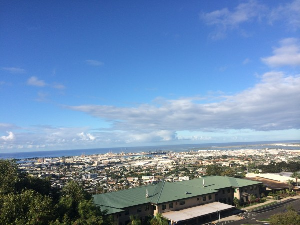 View toward Pearl Harbor