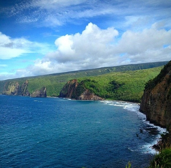 View of Pololu Valley from Private Land