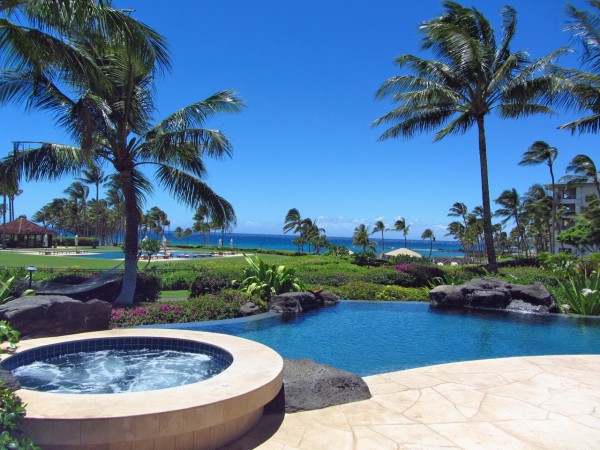 Hale Auoli Overlooks Pauoa Beach Club Facility And Bay Oceanfront Communities