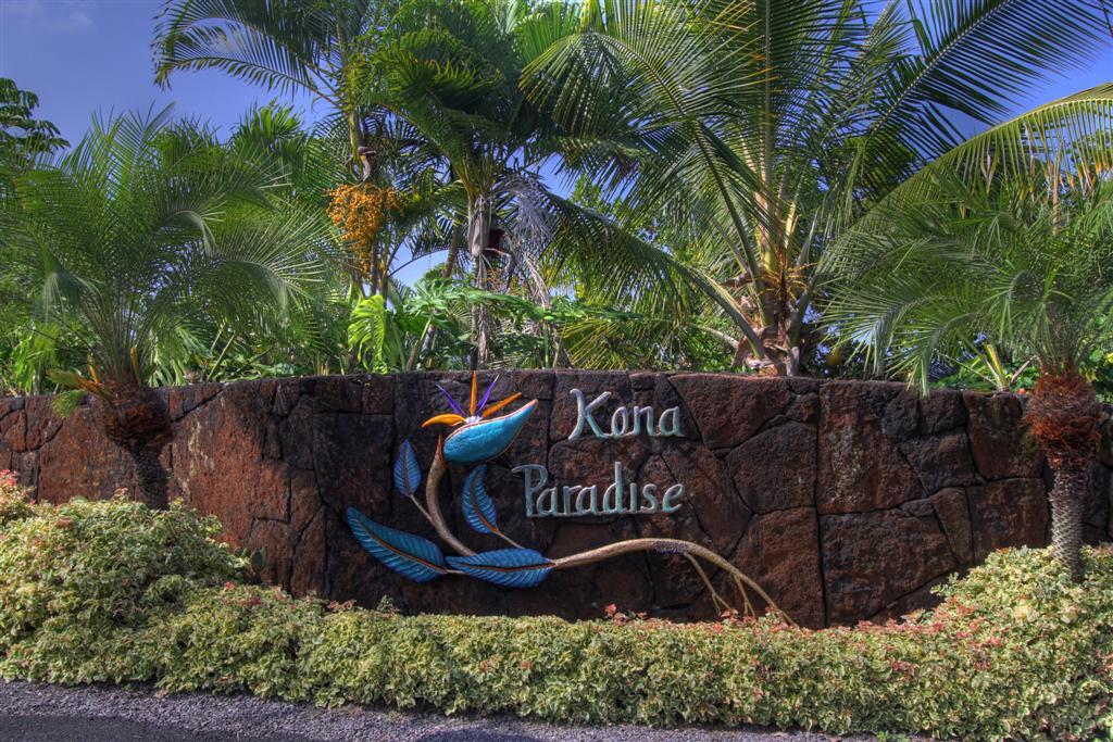 Kona Paradise sign