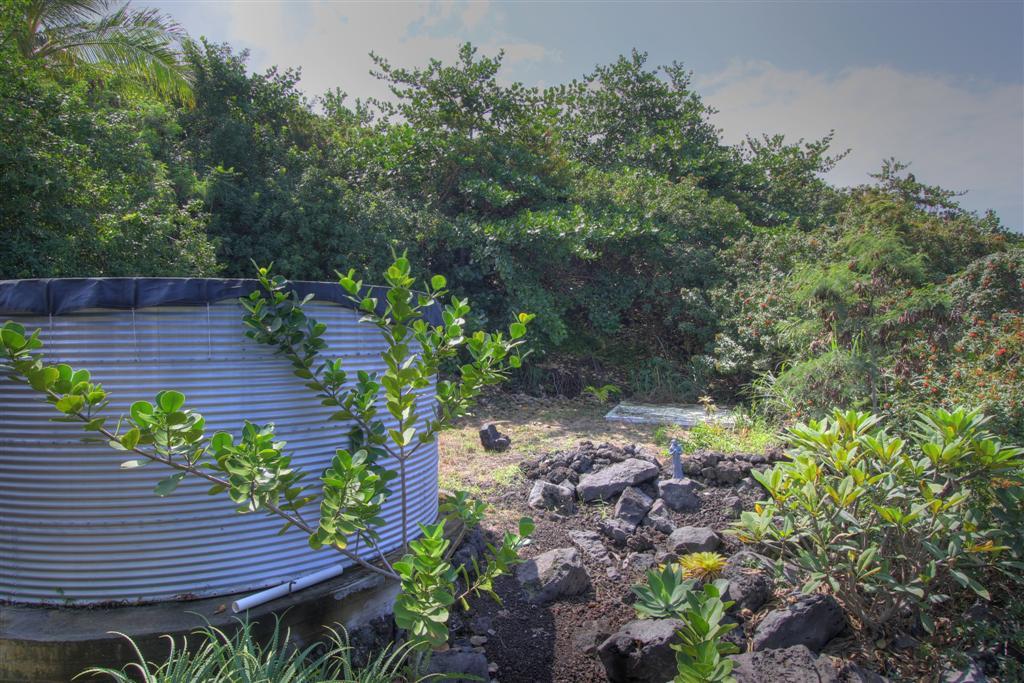backyard catchment tank