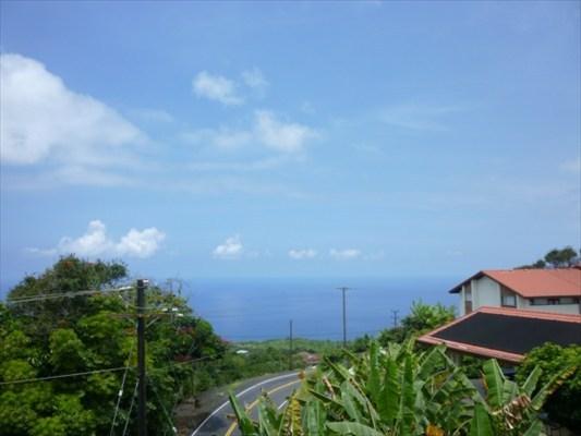 View facing north