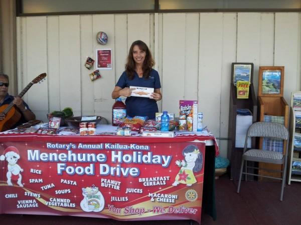 Menehune Annual Holiday Food Drive
