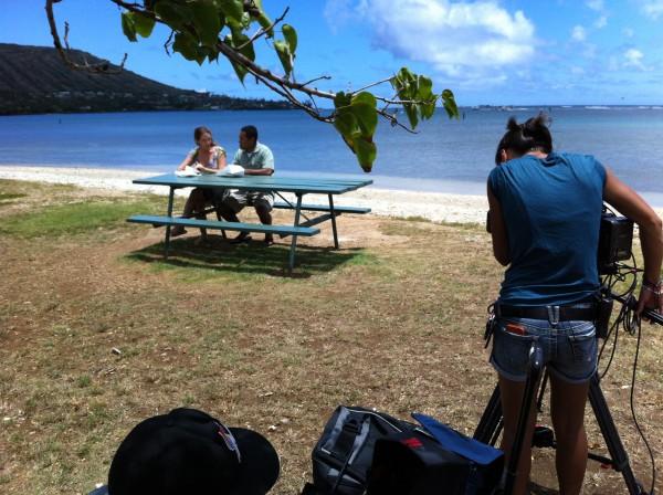 Dan & Keala in Hawaii Kai