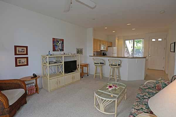 Living room/kitchen from lanai