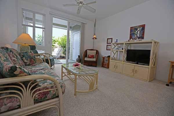 Living Room facing out towards lanai