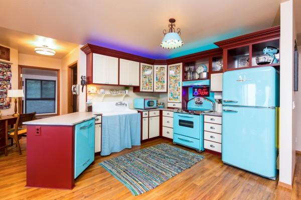 retro kitchen appliances by Elmira Stone Works