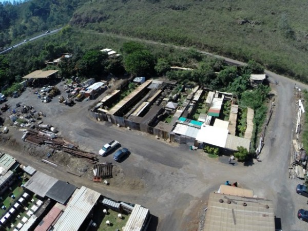 Aerial view capturing how level the lot is ready for your imagination.