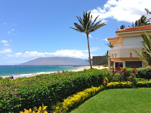 the view from 3070 S. Kihei Rd