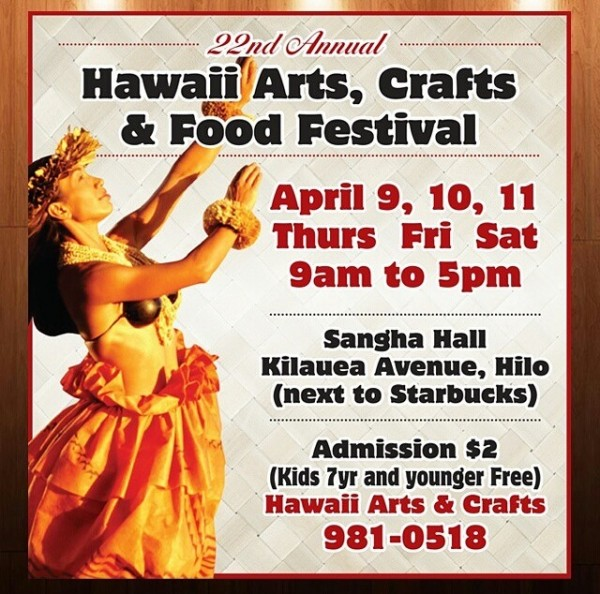 Hawaii Arts, Crafts and Food Festival during Merrie Monarch Festival