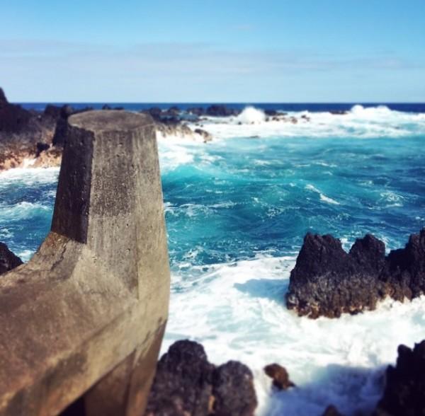 Laupahoehoe Point on the east side of the Big Island of Hawaii