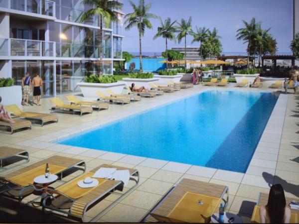 Rendering Keauhou Place Pool
