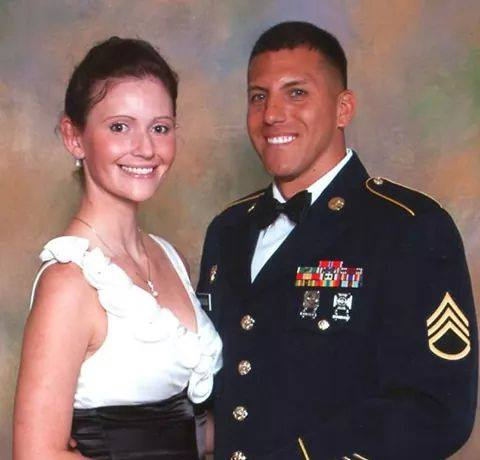 Niece and nephew-in-law, US Army