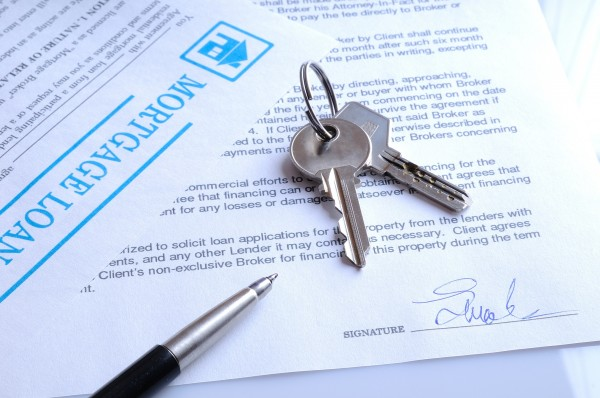 Mortgage contract signed