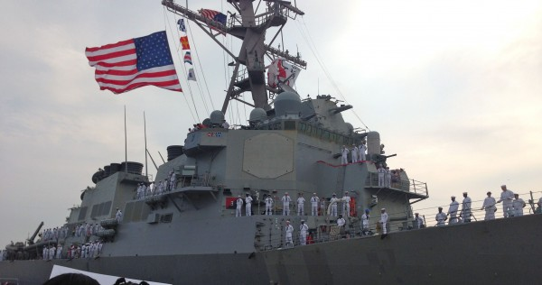 USS CARNEY DDG-64, Homecoming 2014, Mayport Naval Station FL