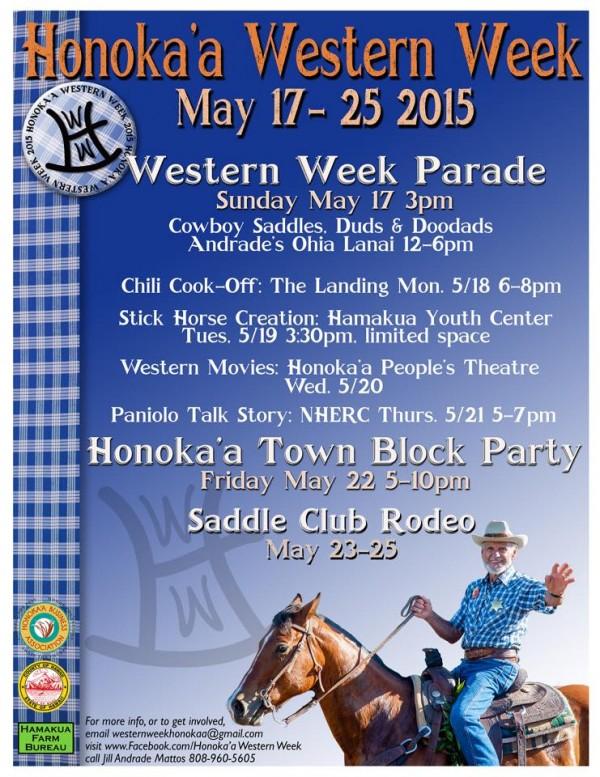 Western Week Flyer