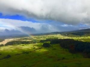 Rainbow over Waimea