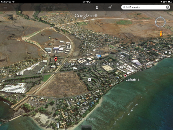Location location location. Centrally located with easy access to Hwy 30 and the Lahaina ByPass.
