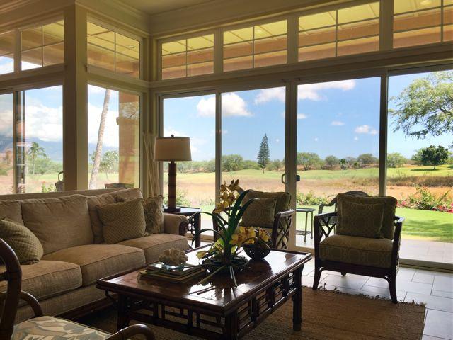 Hokulani Golf Villas - beautiful interior finishes