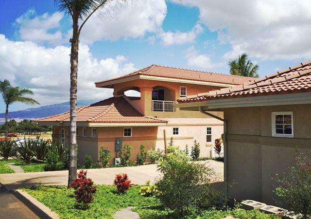 Hokulani Golf Villas model home