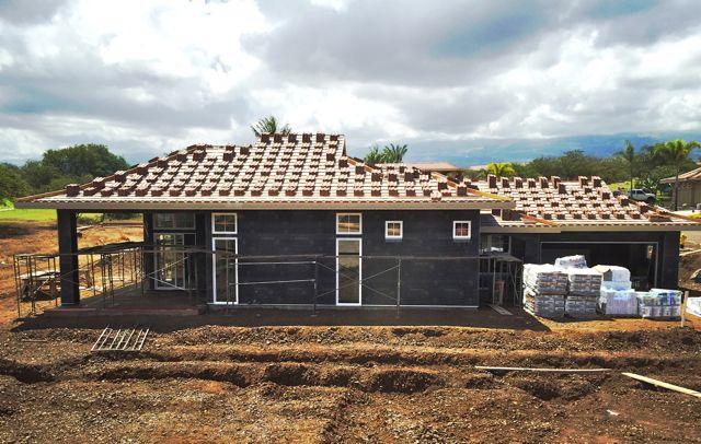 New construction at Hokulani Golf Villas