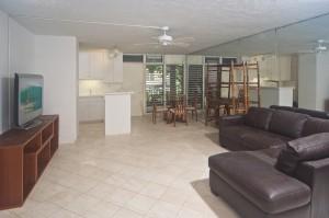 2987 Kalakaua #203 Open Floor Plan