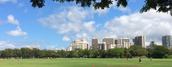 Kapiolani Park fields