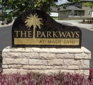 Parkways Sign