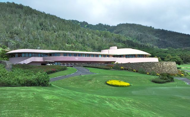 King Kamehameha Golf Course club house