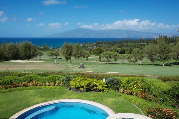 ocean & golf course view