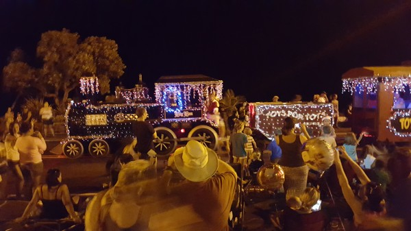 Kona Christmas Parade 2015