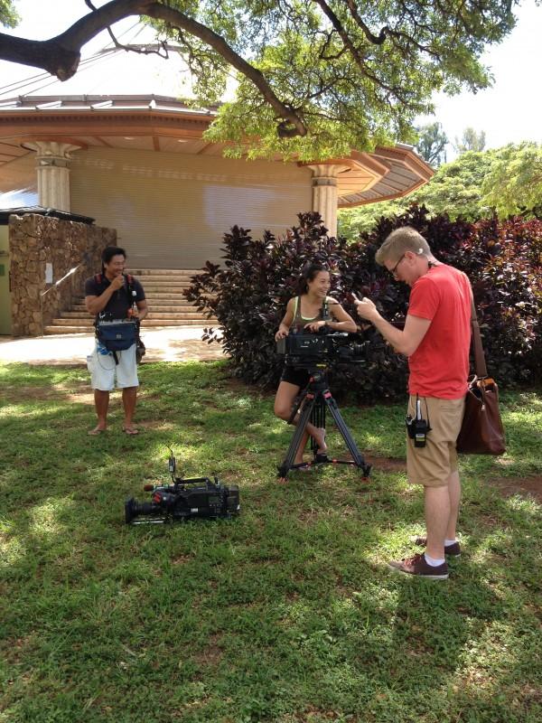 Filming Hawaii Life