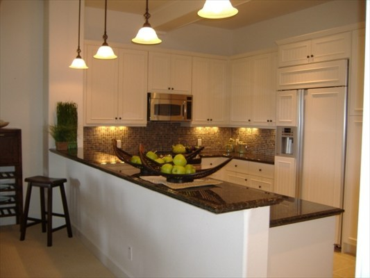 Kitchen finishes at Kulalani
