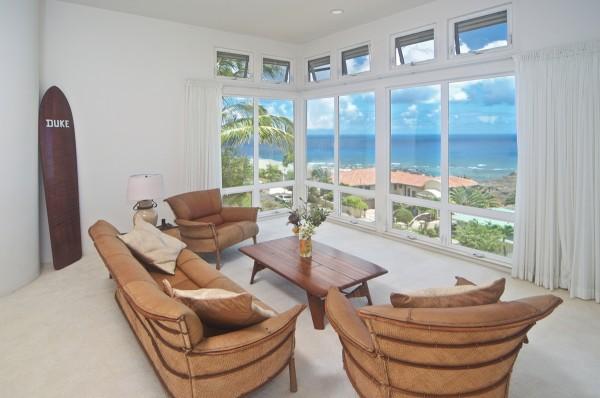 Ocean Views from Kahala Kua Home