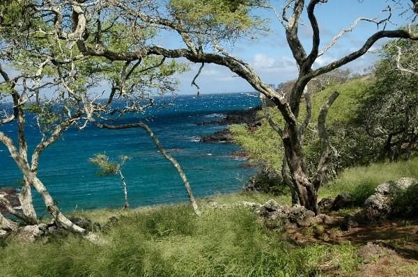 Ranch at Puakea oceanfront lot for sale