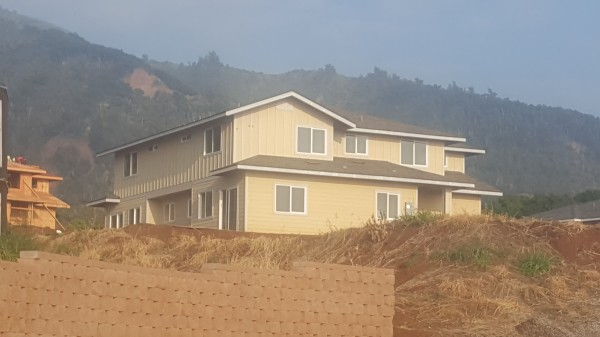 Side and rear view of Mau Loa (Plan Z) under construction
