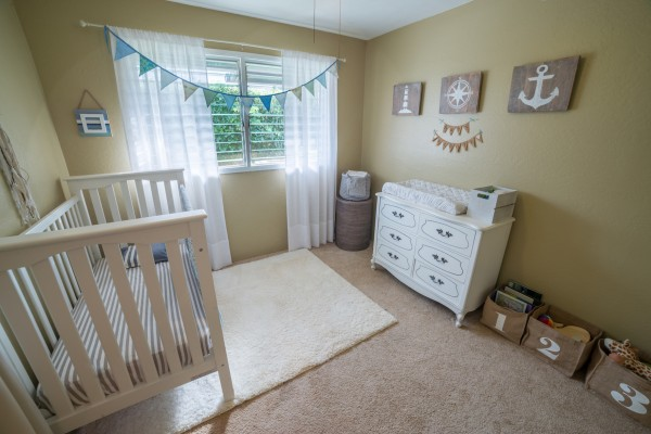 Got baby? Or an office, or guest bedroom...