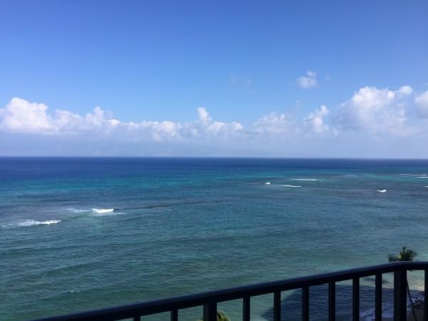 Open ocean views
