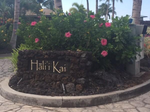 The entrance to Halii Kai