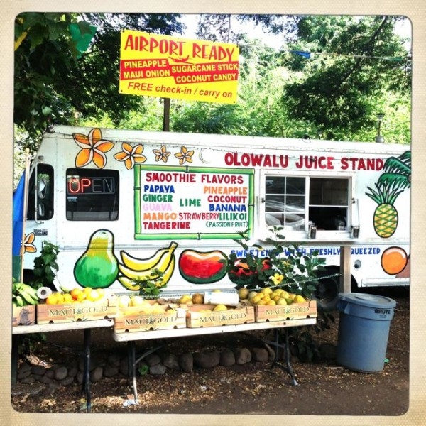 Olowalu Juice Stand in the old village