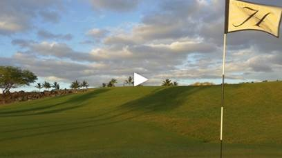golf with play button