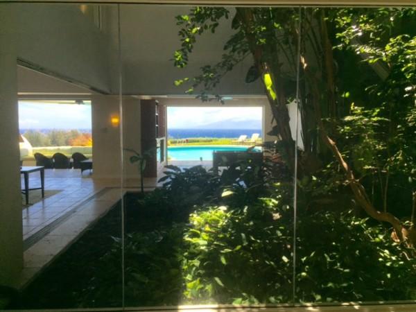 ocean view atrium