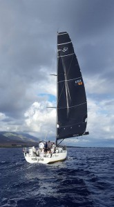 Valkyrie arrives in Maui Waters
