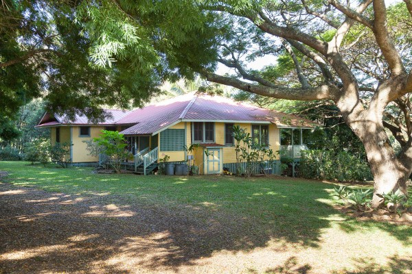 Plantation era home in Hawi for sale