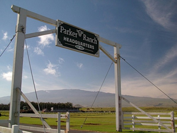 Parker Ranch Sign