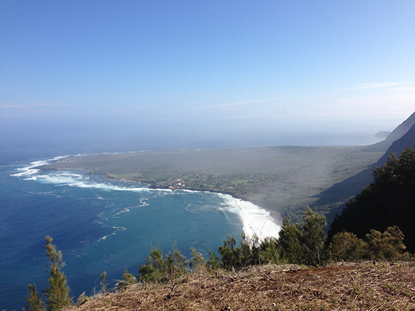 Kalaupapa Lookout in Molokai, Hawaii