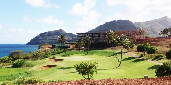 Ocean golf course at Hokuala