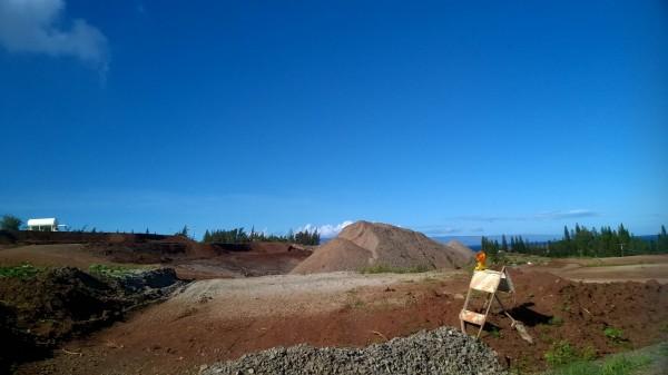 Wailele Ridge construction progress
